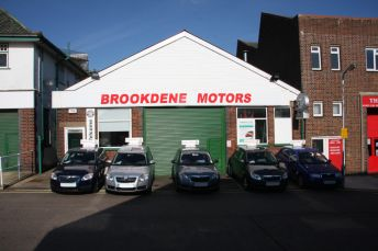 Motor dealership and car servicing