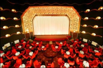 Art deco cinema showing new and classic films