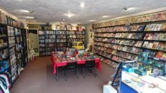 Comic & Games Shop