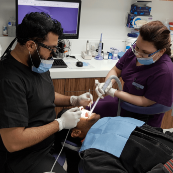 Dentists offering private and NHS services