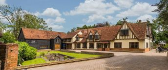 Tudor style hotel