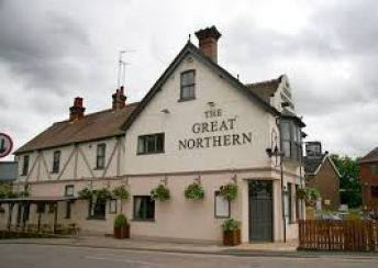 Friendly pub next to train station