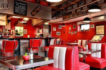 American diner in Hoddesdon
