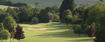 Golf club with beautiful course