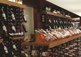 Wine and spirits shop