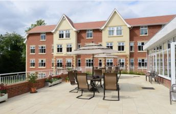 Care home set in beautiful countryside