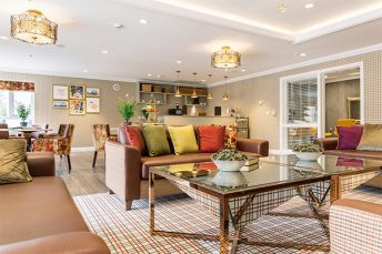 Care home with stunning surroundings
