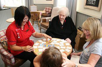 Care home and nursing home